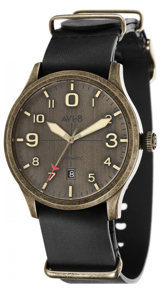 AVI-8 AV-4021-0K - zegarek męski