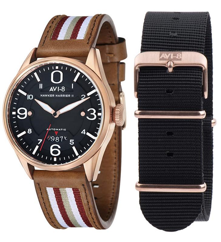 AVI-8 AV-4040-04 - zegarek męski