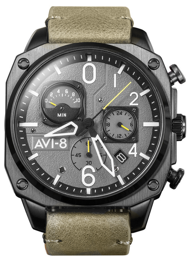 AVI-8 AV-4052-03 - zegarek męski