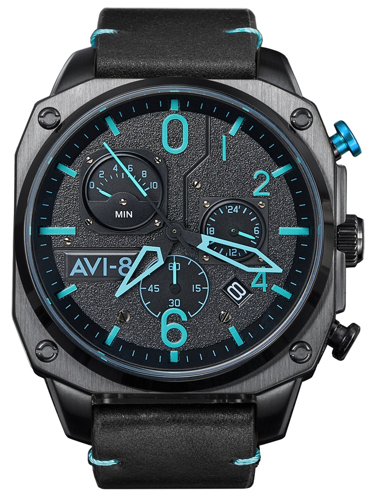 AVI-8 AV-4052-05 - zegarek męski
