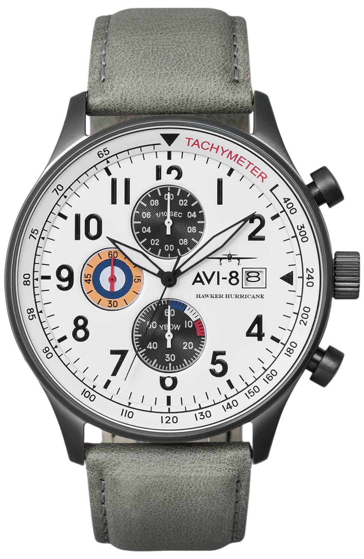 AVI-8 AV-4011-0B - zegarek męski