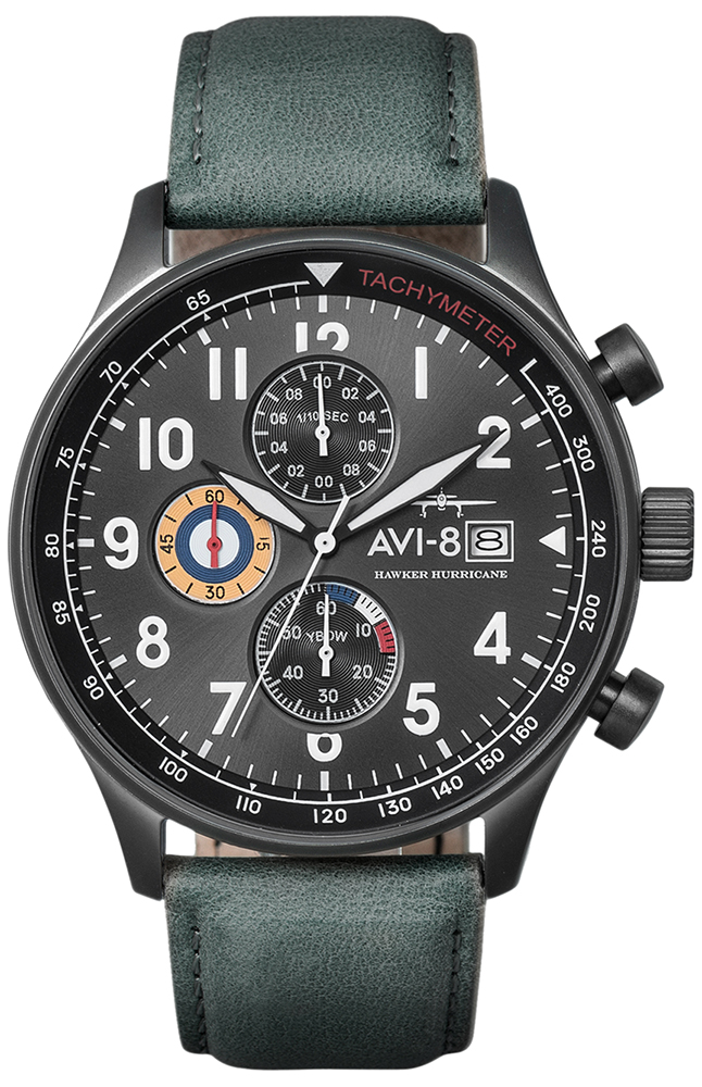 AVI-8 AV-4011-0D - zegarek męski