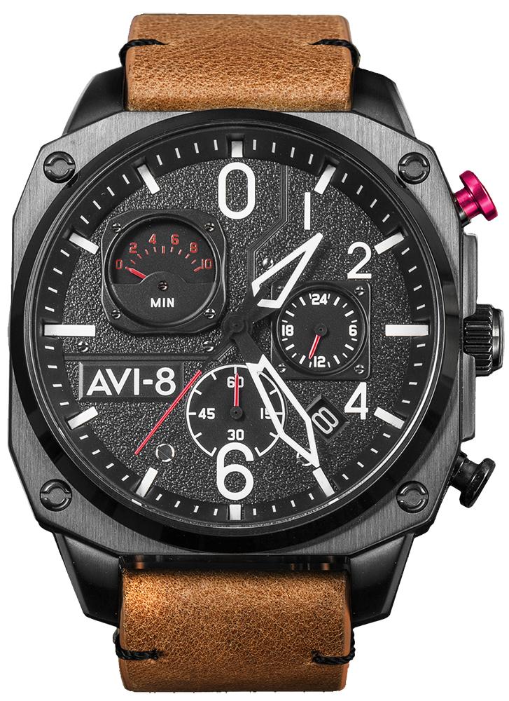 AVI-8 AV-4052-02 - zegarek męski