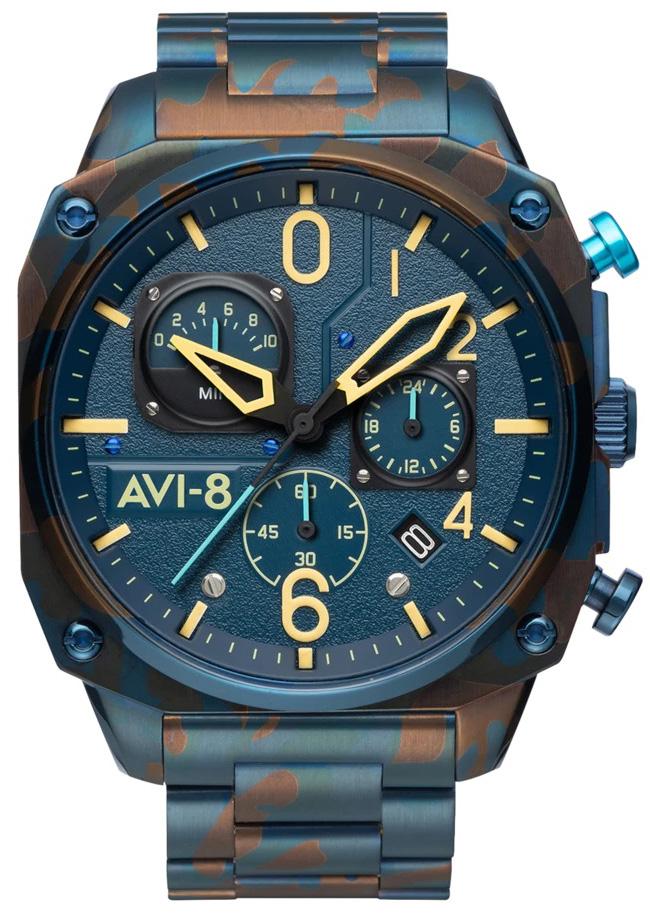 AVI-8 AV-4052-33 - zegarek męski