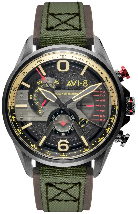AVI-8 AV-4056-03 - zegarek męski