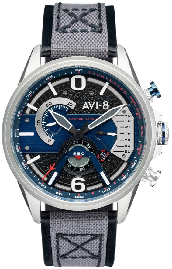 AVI-8 AV-4056-04 - zegarek męski