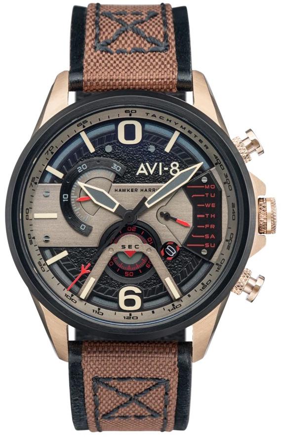 AVI-8 AV-4056-06 - zegarek męski