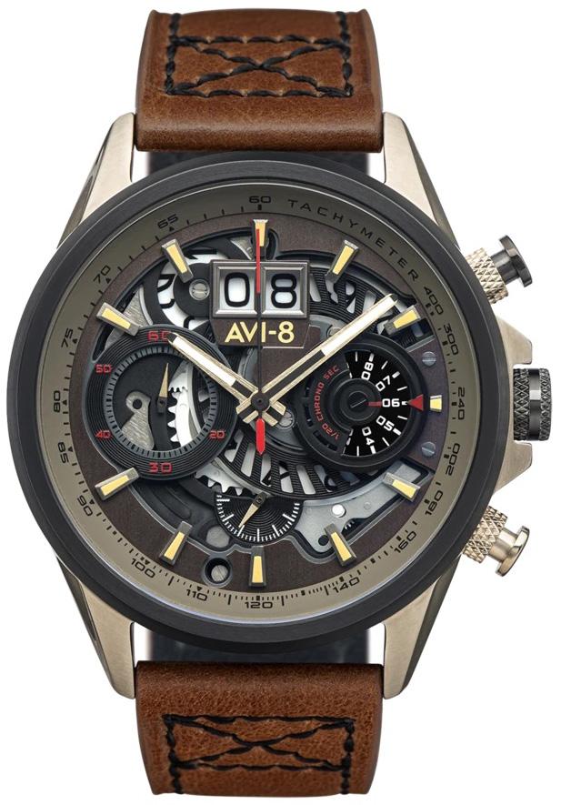 AVI-8 AV-4065-06 - zegarek męski