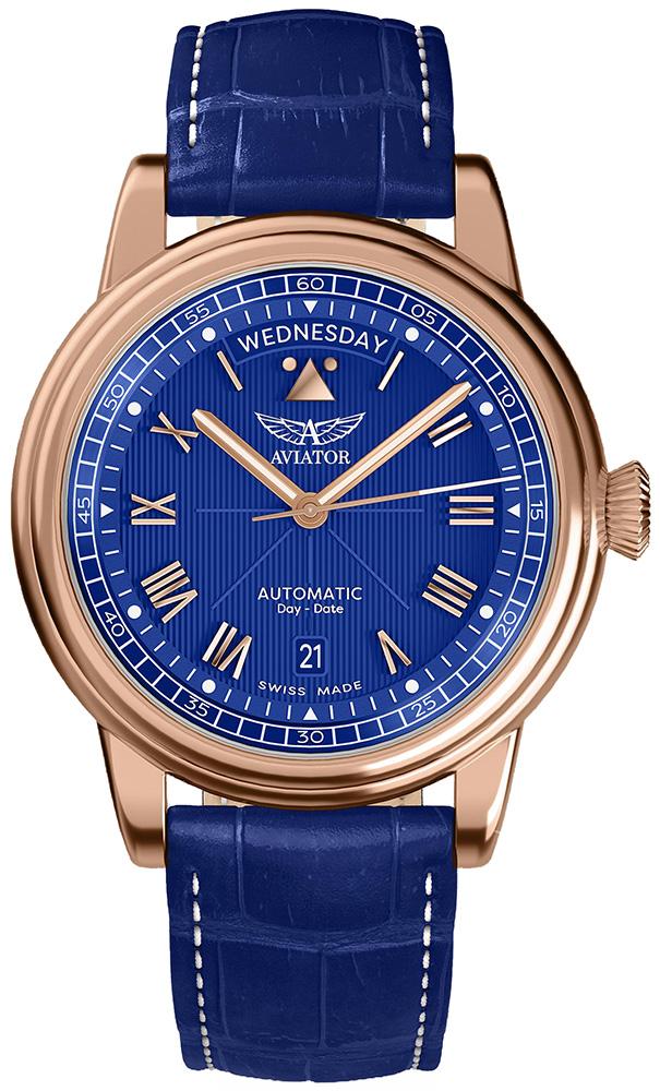 Aviator V.3.35.2.277.4 - zegarek męski