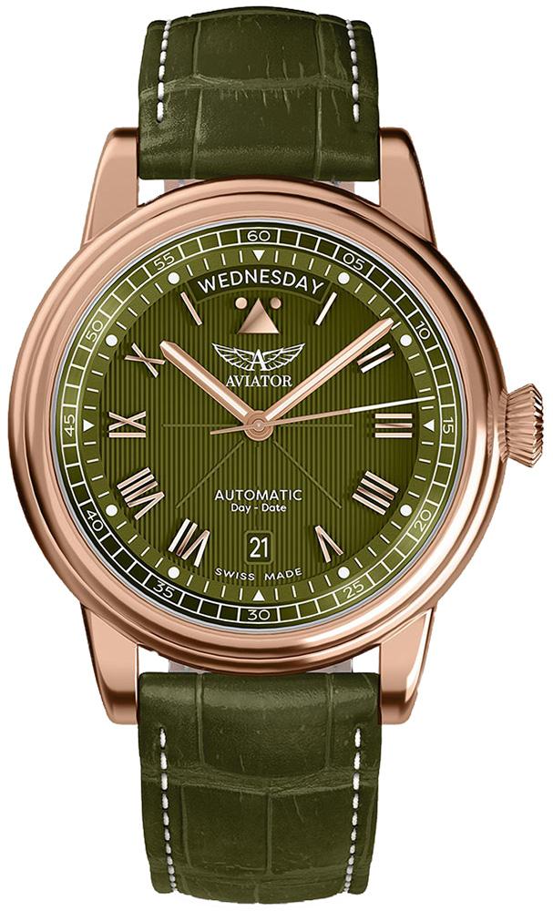 Aviator V.3.35.2.279.4 - zegarek męski