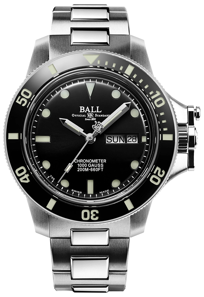 Ball DM2218B-SCJ-BK - zegarek męski