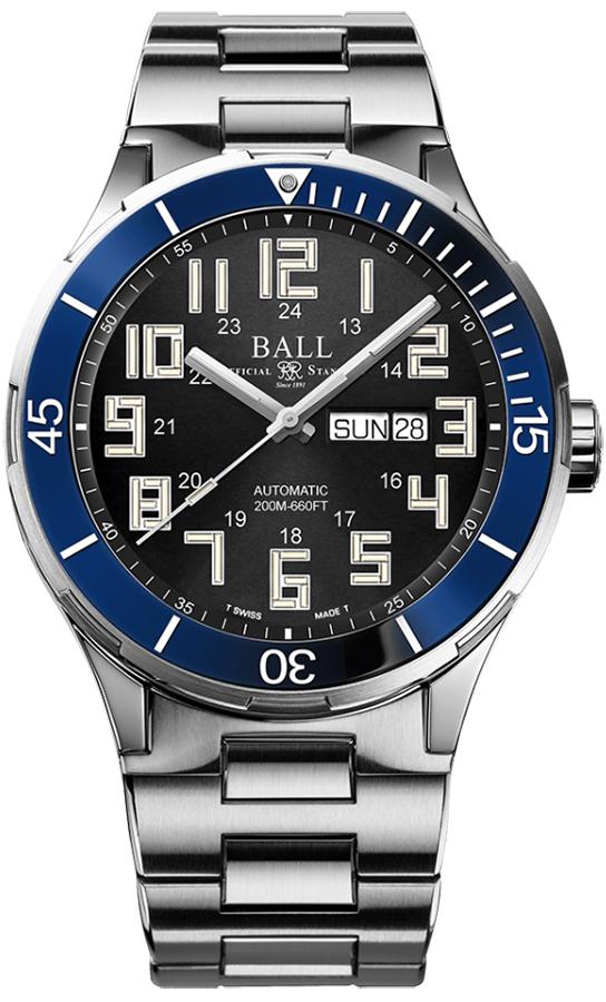 Ball DM3050B-S5-BK - zegarek męski