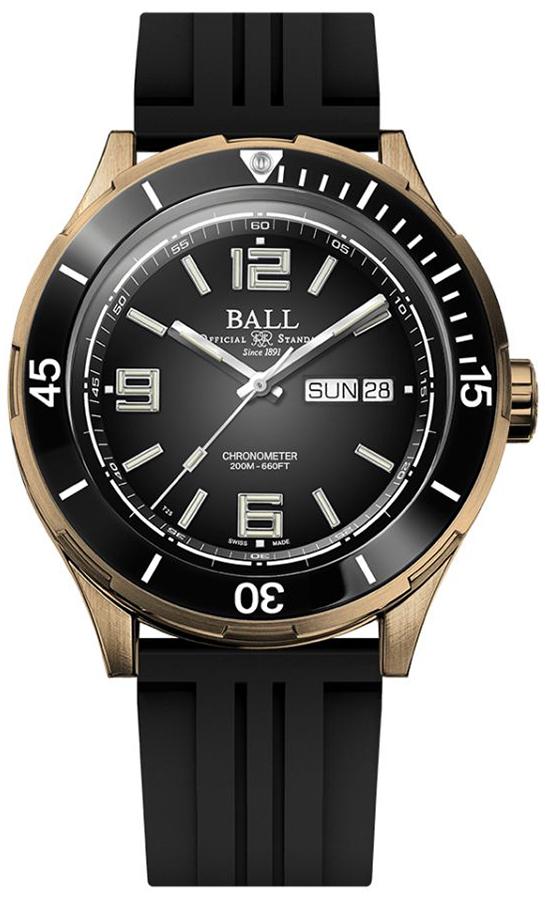 Ball DM3070B-P1CJ-BK - zegarek męski