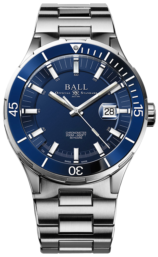 Ball DM3130B-S2CJ-BE - zegarek męski