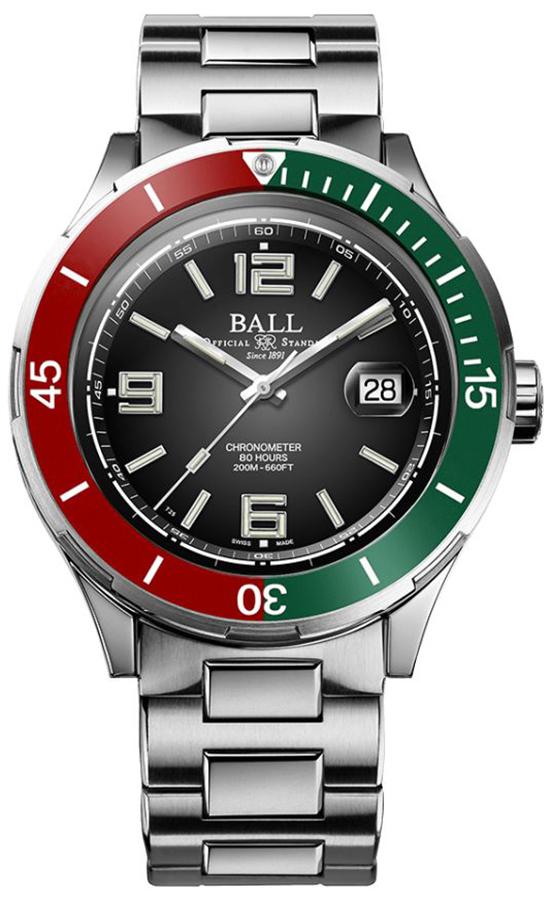 Ball DM3130B-S7CJ-BK - zegarek męski