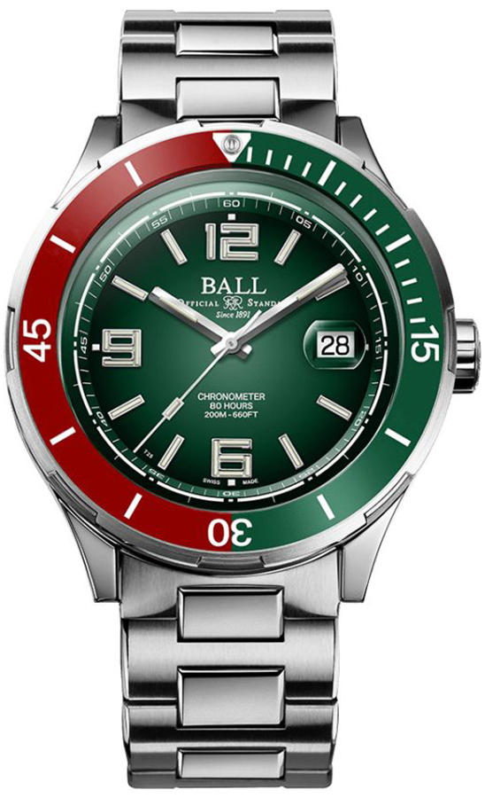 Ball DM3130B-S7CJ-GR - zegarek męski