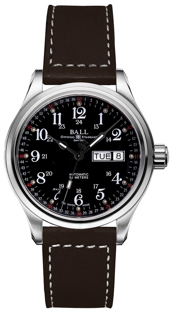 Ball NM1058D-L3J-BK - zegarek męski