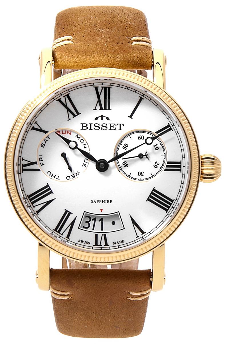 Bisset BSCF36GRWX05AX - zegarek męski