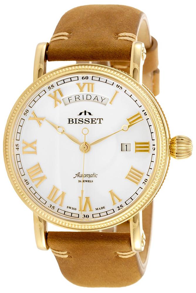 Bisset BSMF35GRWX05BX - zegarek męski