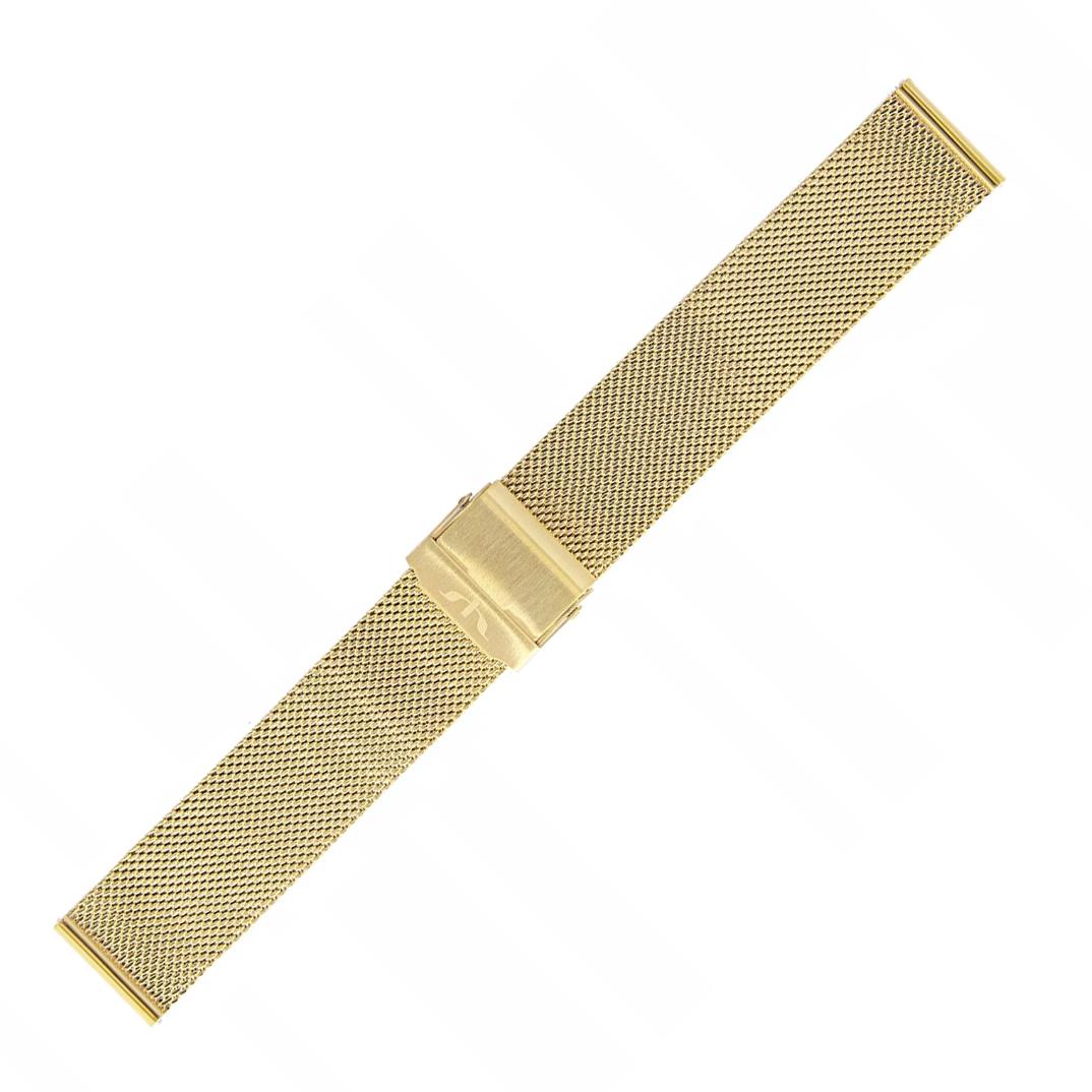 Bisset BM-101-16-GOLD - bransoleta do zegarka damski