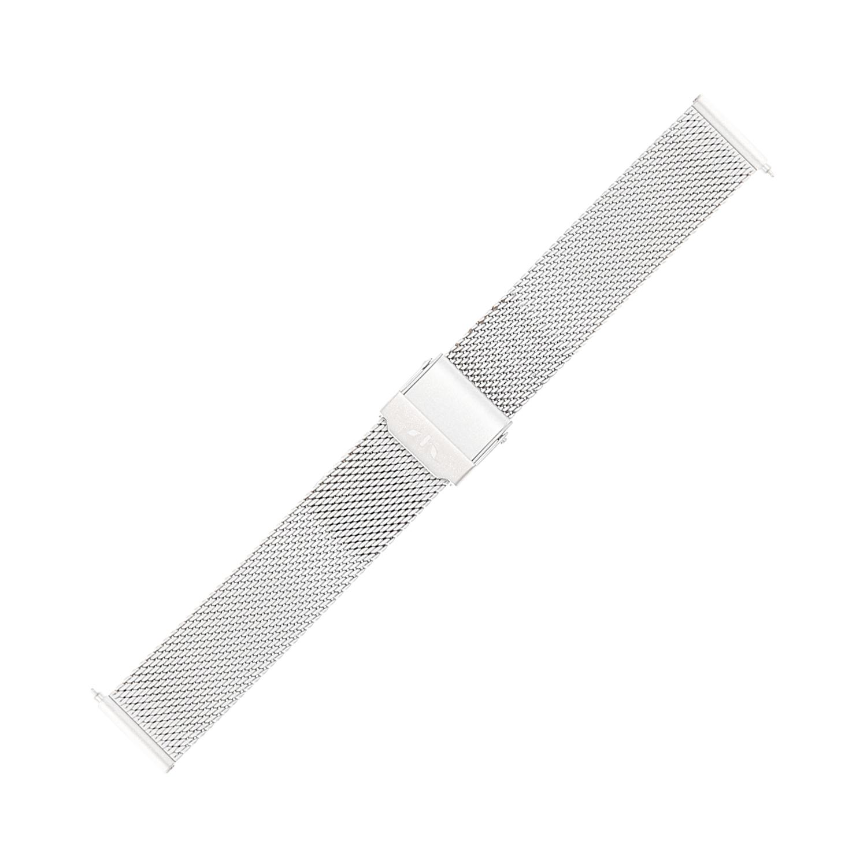 Bisset BM-101-16-SILVER-MAT - bransoleta do zegarka