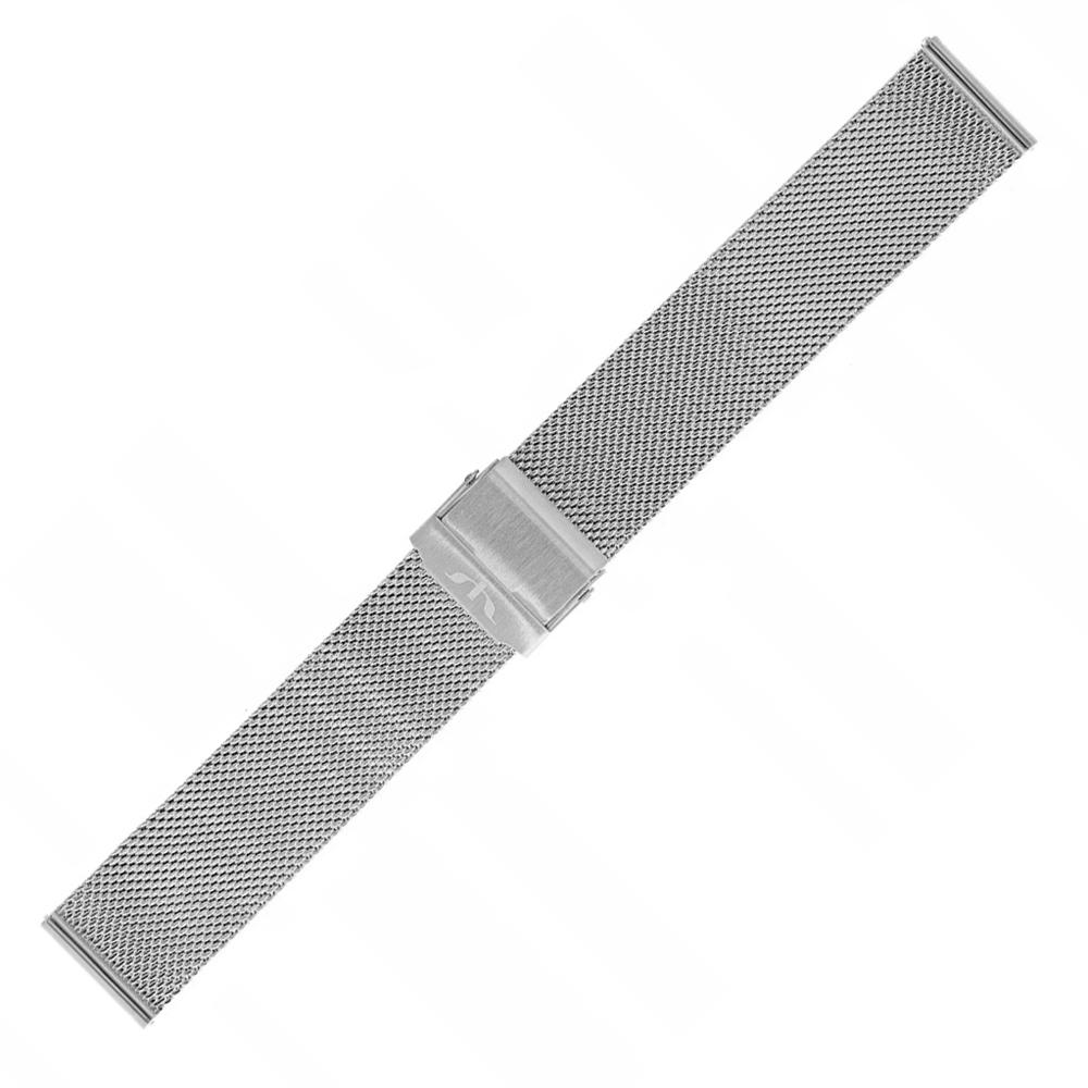 Bisset BM-101-18-SILVER - bransoleta do zegarka