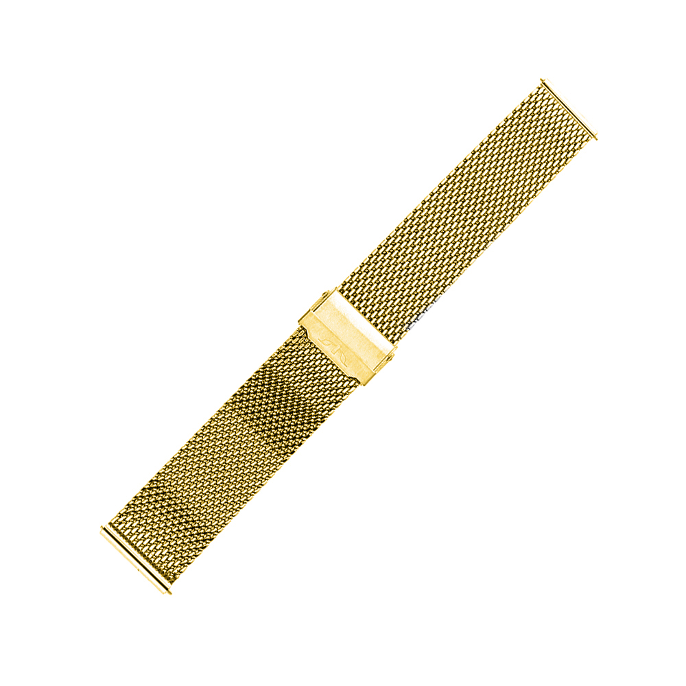 Bisset BM-102-22-GOLD - bransoleta do zegarka męski