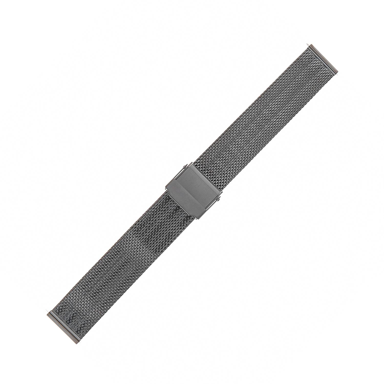 Bisset BM-103-16-BLACK - bransoleta do zegarka