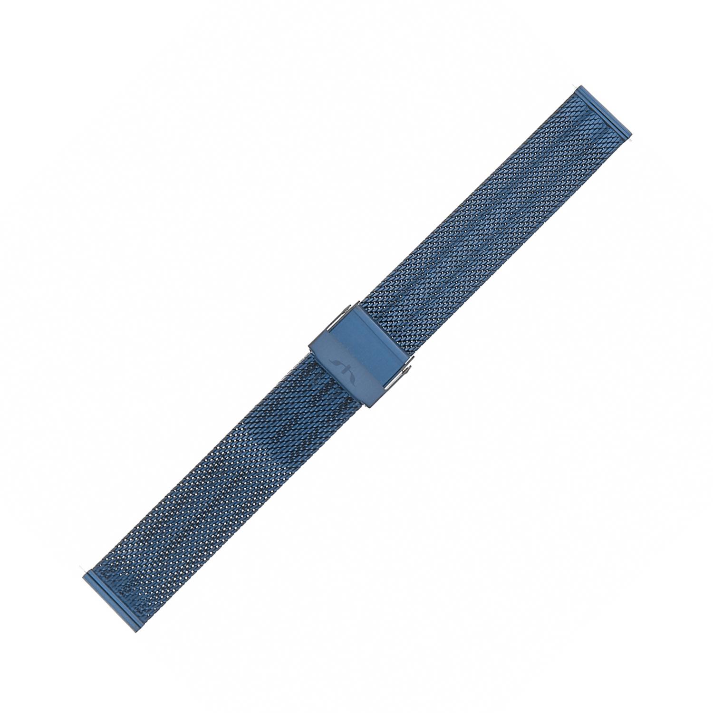 Bisset BM-103-16-BLUE - bransoleta do zegarka