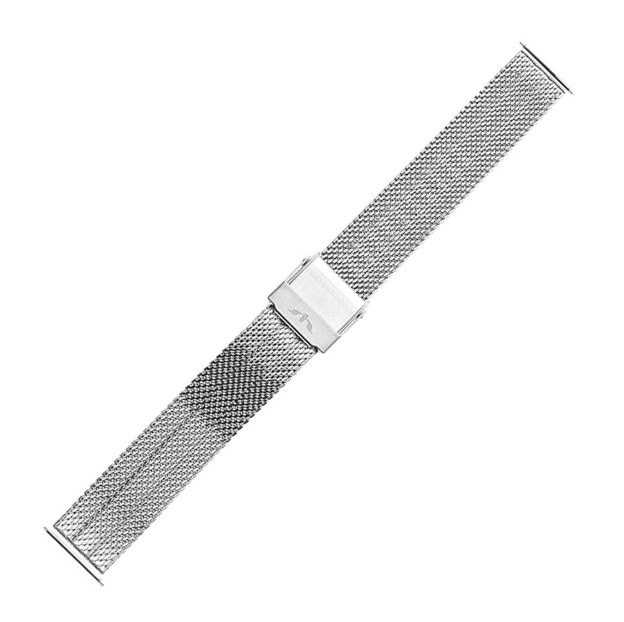Bisset BM-103-18-SILVER - bransoleta do zegarka