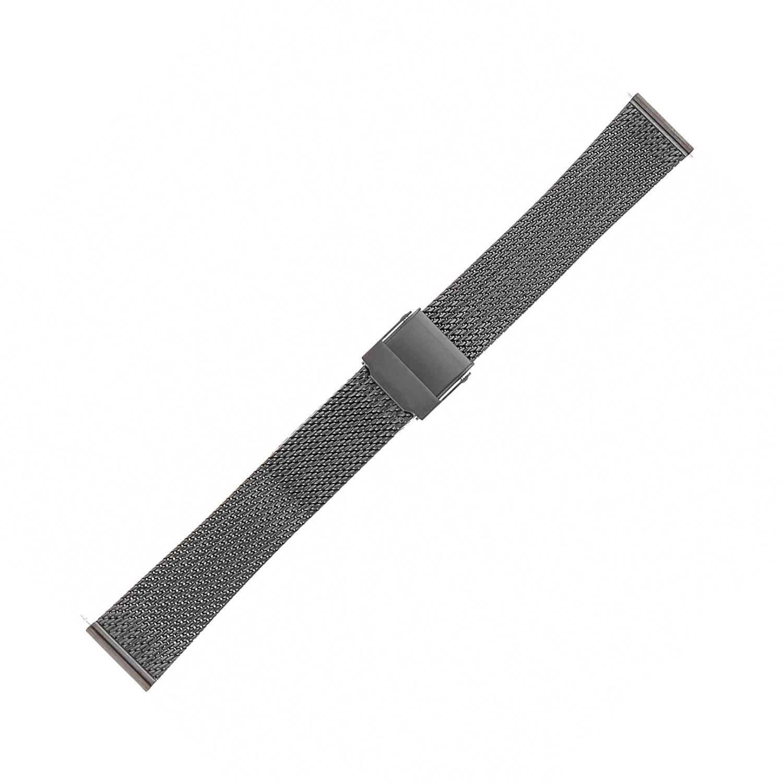Bisset BM-104-16-BLACK - bransoleta do zegarka