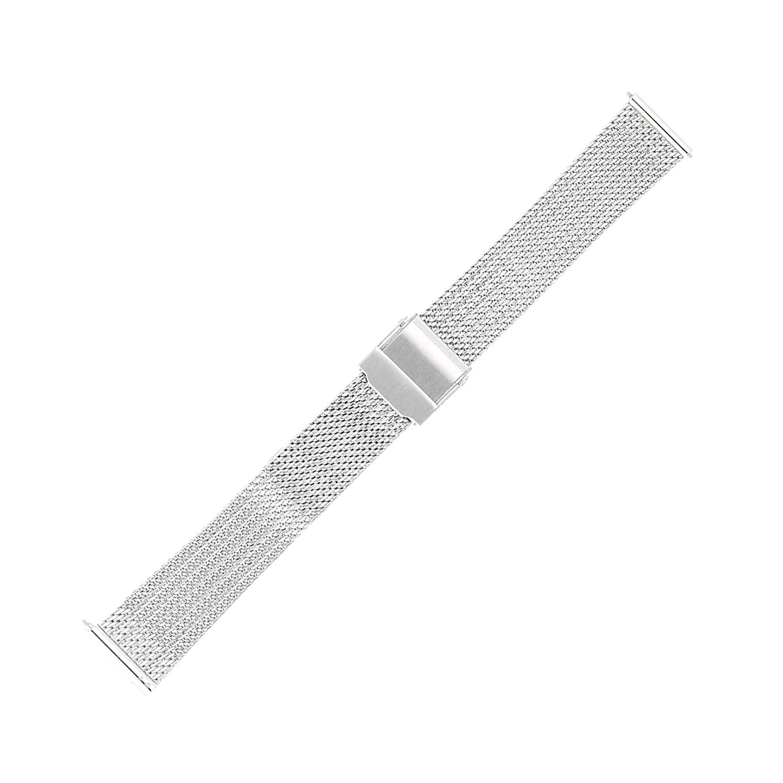 Bisset BM-104-16-SILVER - bransoleta do zegarka