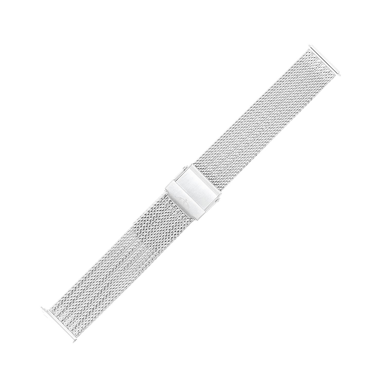 Bisset BM-105-16-SILVER - bransoleta do zegarka