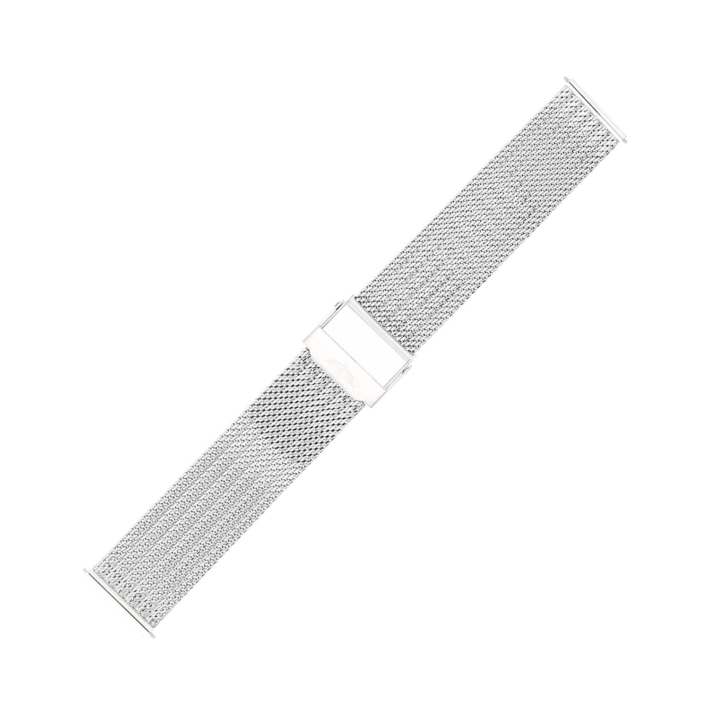 Bisset BM-105-18-SILVER - bransoleta do zegarka