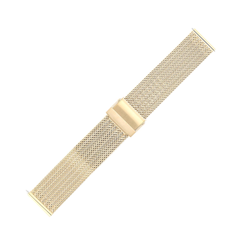 Bisset BM-105-20-GOLD - bransoleta do zegarka