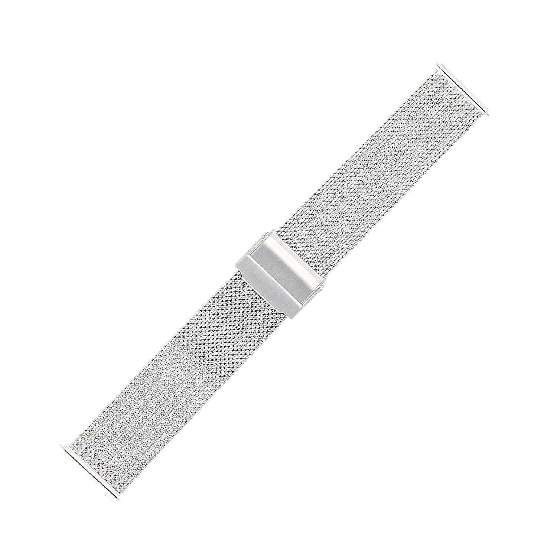 Bisset BM-105-20-SILVER - bransoleta do zegarka