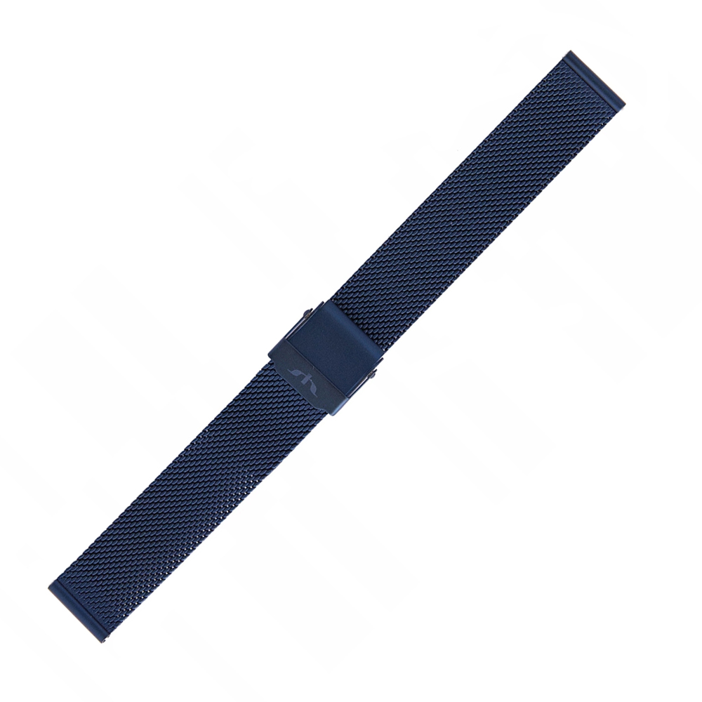 Bisset BM-101-14-BLUE - bransoleta do zegarka damski