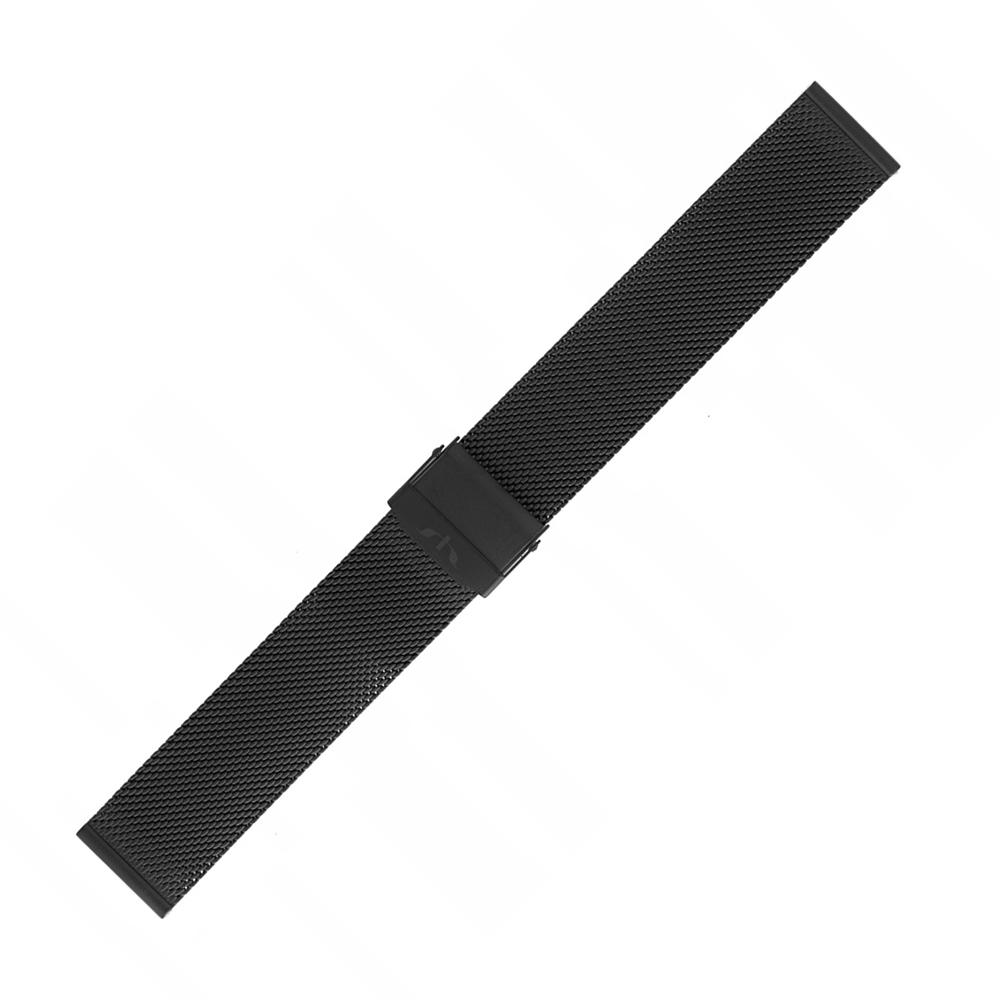 Bisset BM-101-18-BLACK - bransoleta do zegarka damski