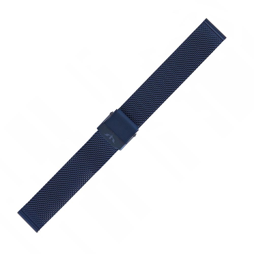 Bisset BM-101-18-BLUE - bransoleta do zegarka damski