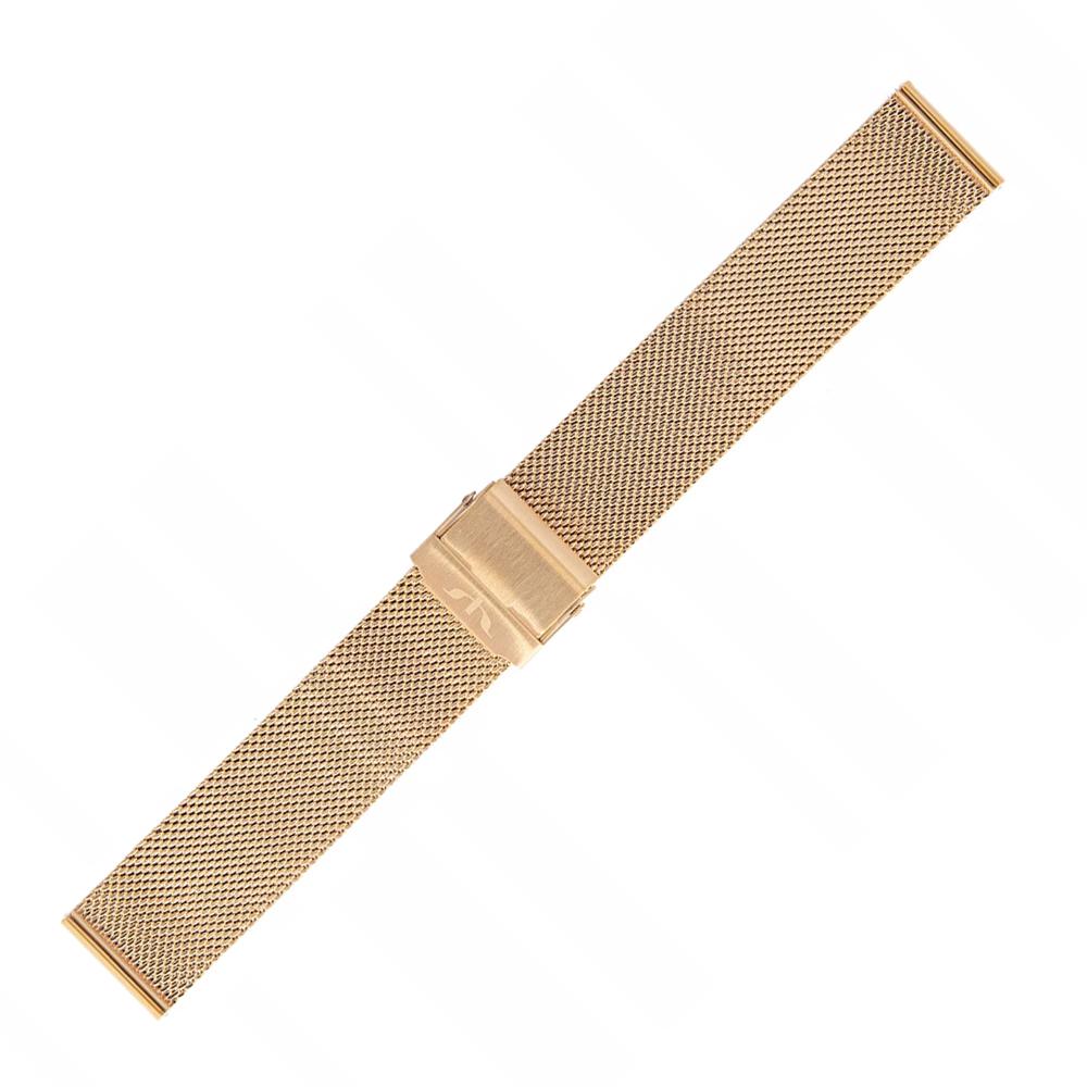 Bisset BM-101-16-ROSE - bransoleta do zegarka damski
