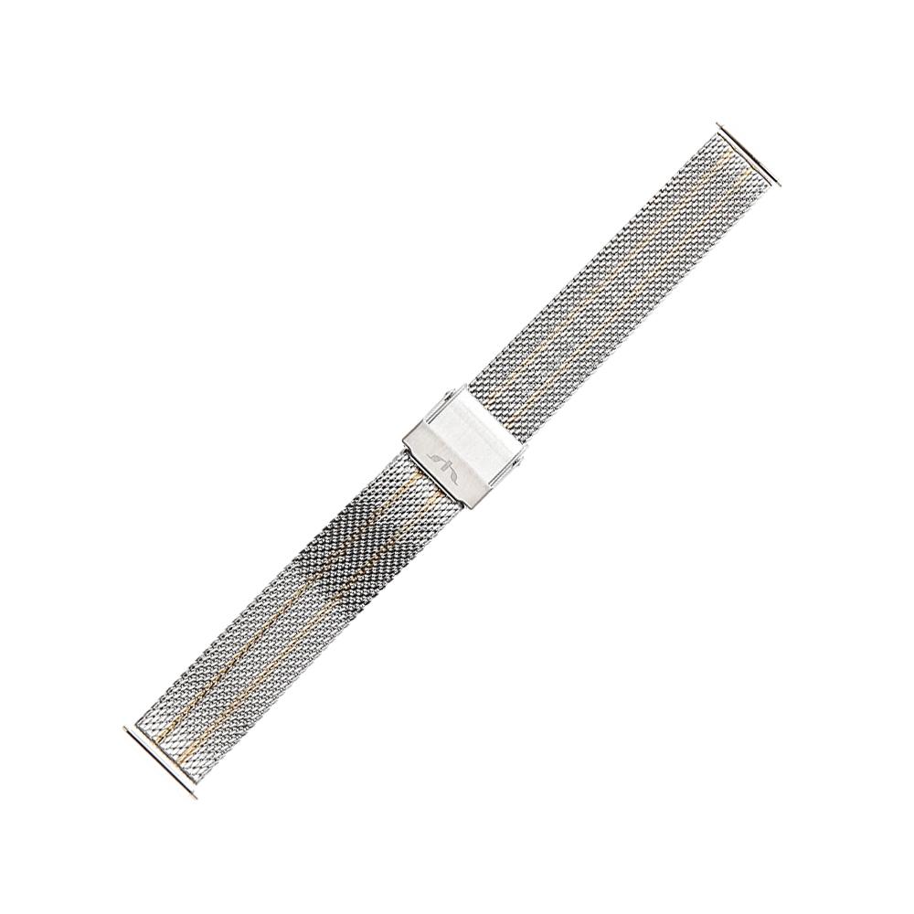 Bisset BM-105-14-TT-GOLD - bransoleta do zegarka damski