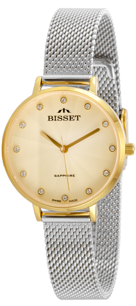 Bisset BSBF30GIGX03BX - zegarek damski