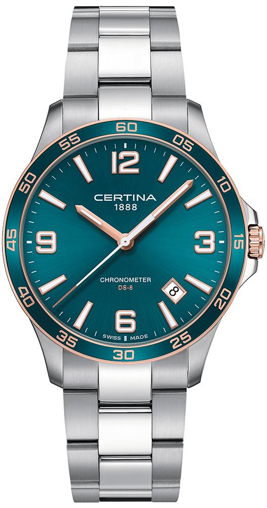Certina C033.851.21.097.00 - zegarek męski