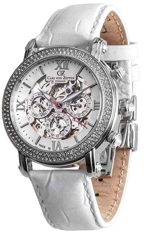 Carl von Zeyten CVZ0062WH - zegarek damski