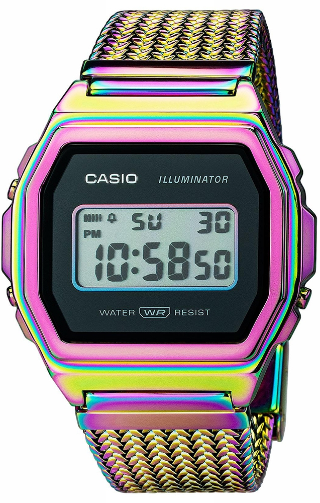 Casio Vintage A1000PRW-1ER - zegarek damski
