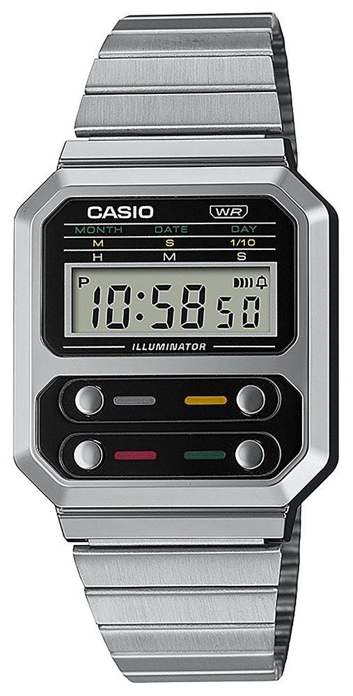 Casio Vintage A100WE-1AEF - zegarek damski