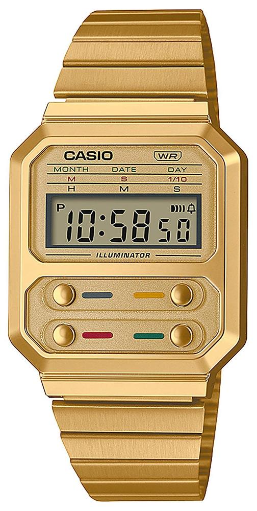 Casio Vintage A100WEG-9AEF - zegarek damski