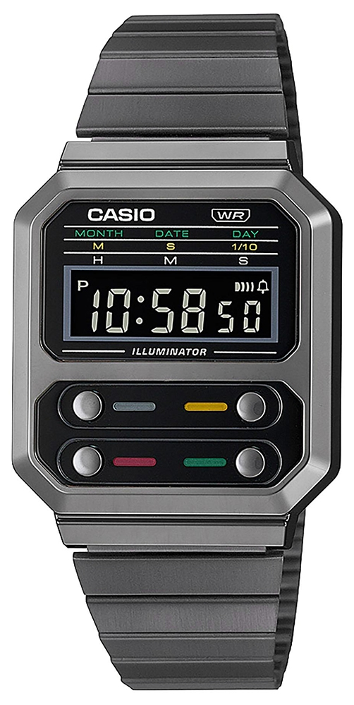 Casio Vintage A100WEGG-1AEF - zegarek damski