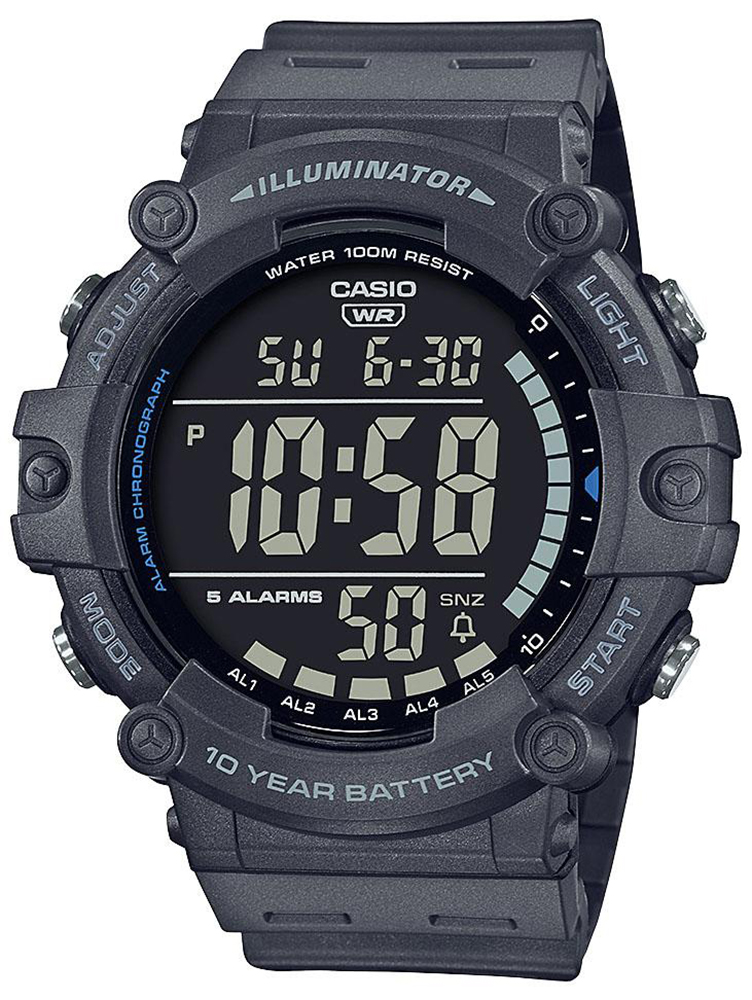 Casio AE-1500WH-8BVEF - zegarek męski