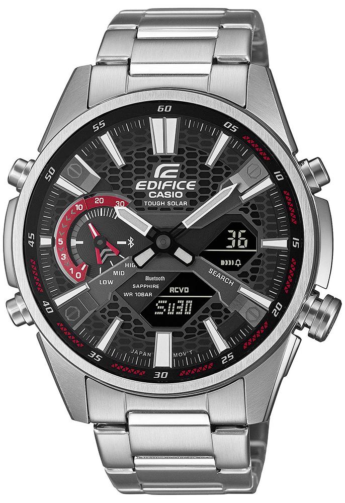 Casio EDIFICE ECB-S100D-1AEF - zegarek męski